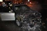 В центре Киеве на ходу загорелся внедорожник
